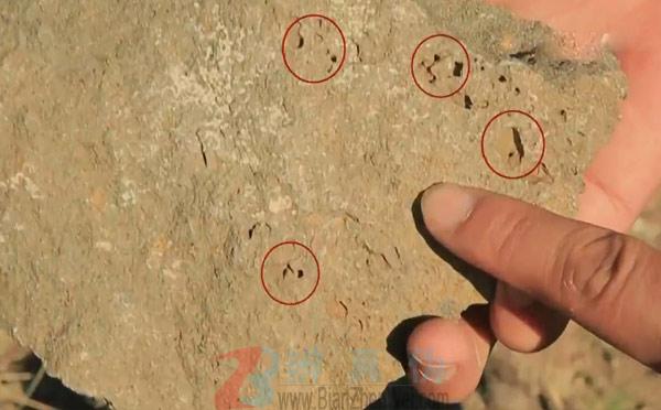 山也有平顶的调查,石头多孔洞