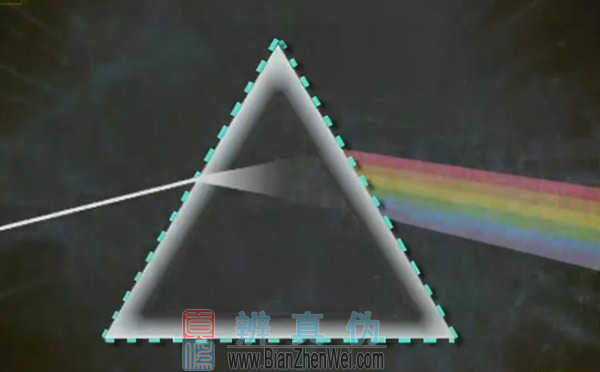 在家也能自制彩虹,同一种介质对各种单色光的折射率不同,所以通过三棱镜时,各单色光的偏折角不同。因此,白色光通过三棱镜时会将各单色光分开,我们就能在光源的对面看到彩虹了