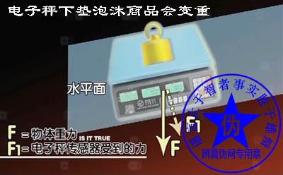 电子称下垫泡沫商品会变重是假的。垫泡沫会使称重结果出现一些偏差,但是这种偏差只会使商品的重量变轻而不会变重——辨真伪网
